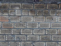 Tekstur fasad cegły brukowanie Zdjęcie Stock