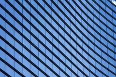 Tekstur okno centrum biznesu Zdjęcia Royalty Free
