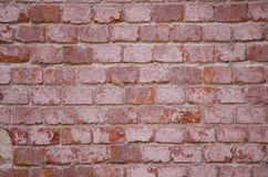 Tekstura ściana z cegieł fotografia stock