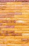 Tekstura ściana z cegieł obrazy royalty free