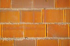 Tekstura ściana z cegieł dla tła Fotografia Stock