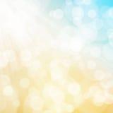 Tekstura, abstrakcjonistyczny tło jest kolorowym bokeh światłem od słońca royalty ilustracja
