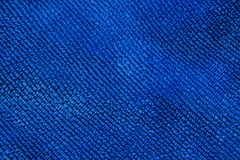 Tekstura błękitny tkaniny tło Obraz Stock