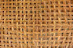 Tekstura bambus wyplata Zdjęcie Stock