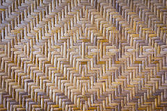 Tekstura bambusowy weave Fotografia Royalty Free