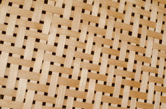 Tekstura bambusowy weave Fotografia Stock