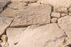 Tekstura barwiący kamień łamający Obrazy Royalty Free