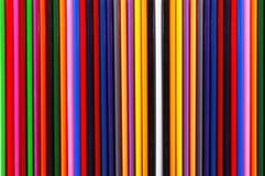 Tekstura barwioni ołówki obraz royalty free