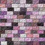 Tekstura barwiony ściana z cegieł Obraz Royalty Free