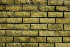 Tekstura beżowy ściana z cegieł Fotografia Royalty Free