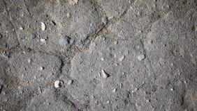 Tekstura beton szary kolor tła asfaltowego road Drogowa powierzchnia Tekstura o Obraz Stock