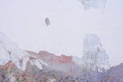 Tekstura betonowa ściana z pęknięciami i narysami które mogą używać jako tło fotografia stock