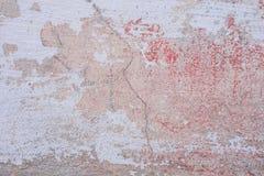 Tekstura betonowa ściana z pęknięciami i narysami które mogą używać jako tło obrazy royalty free