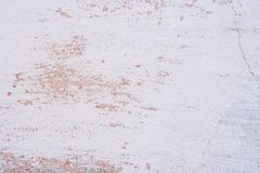 Tekstura betonowa ściana z pęknięciami i narysami które mogą używać jako tło fotografia royalty free