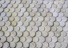Tekstura betonowy bruk Fotografia Royalty Free