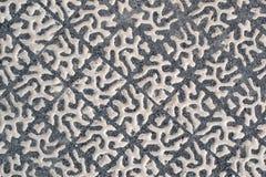 Tekstura 6661 - betonowy brukowanie Obraz Royalty Free