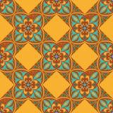 tekstura bezszwowy wektor Piękny barwiony wzór dla projekta i moda z dekoracyjnymi elementami ilustracji