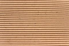 Tekstura brąz gofruje karton obrazy stock