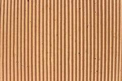 Tekstura brąz gofruje karton zdjęcia stock