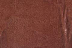 Tekstura brown aksamitna tkanina Zdjęcia Royalty Free