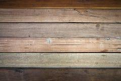 Tekstura Brown deski Drewniana ściana zdjęcie royalty free