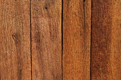 Tekstura brown drewniana deska obrazy stock