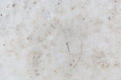Tekstura brudu ziemi śnieg zakrywający zakończenie up Fotografia Stock