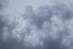 Tekstura burzowe chmury Fotografia Royalty Free