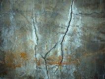 Tekstura Carck na cement ścianie obrazy royalty free