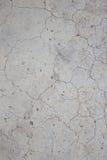 Tekstura cementu krekingowa stara ściana Obrazy Royalty Free