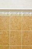 Tekstura ceramiczna ściana Obraz Royalty Free