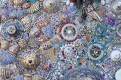 Tekstura ceramiczna ściana Zdjęcie Stock