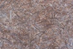 Tekstura chipboard brąz Obrazy Stock