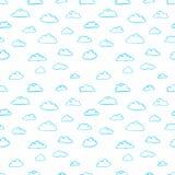 Tekstura chmury royalty ilustracja
