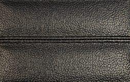 Tekstura ciemna stara skóra Obraz Royalty Free