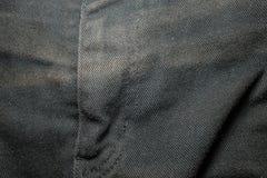 tekstura czarny cajg Fotografia Royalty Free
