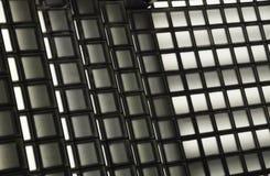 Tekstura czarny i biały kwadraty Fotografia Stock