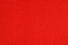 Tekstura czerwonego koloru dywanowy wzór Zdjęcia Stock