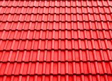 Tekstura dachu cienia czerwień zdjęcie royalty free