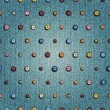 Tekstura drelichowa tkanina Fotografia Royalty Free