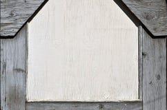 Tekstura drewniana ściana z starym farba narzutem który psuje pod wpływem czasu i weathe Fotografia Royalty Free