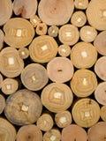 Tekstura drewniana beli sekcja zdjęcia stock