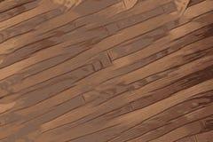 Tekstura drewno, antykwarska drewniana podłoga z brązem barwi ilustracja wektor
