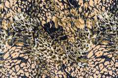 Tekstura druk tkaniny lampasów wąż Fotografia Stock