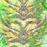 Tekstura druk tkaniny powierzchnia Obrazy Royalty Free