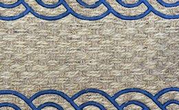 Tekstura dywanik od szorstkiego włókna tło dla projekta i dekoraci fotografia royalty free