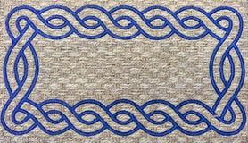 Tekstura dywanik od szorstkiego włókna tło dla projekta i dekoraci obrazy stock