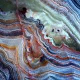 Tekstura gemstone agat i onyks Obrazy Stock