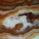 Tekstura gemstone brązu agat i onyks Obrazy Royalty Free
