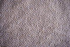 Tekstura handmade tkanina Obraz Royalty Free